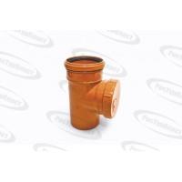 Ревизия наружной канализации диаметром 100