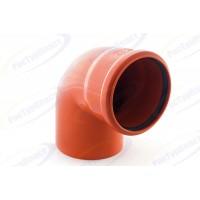 Отводы наружной канализации диаметром 100